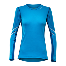 Devold Sport Woman Shirt - sea blue/indigo