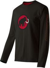 Tričko Mammut Snow Longsleeve Men - Black