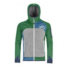 Ortovox Fleece Plus Hoody - irish green