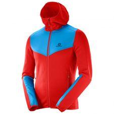 Salomon X-Alp Mid Sweatshirt Hoodie M Matador