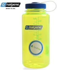 Nalgene Wide Mouth 1.0 l - Safety Yellow
