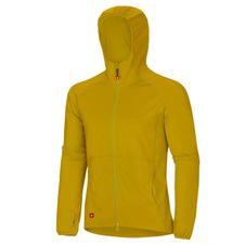 Sweatshirt Hoodie-Ocún Coco Men yellow