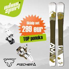 Set Fischer Tour X-Pression + Dynafit Speed Turn 2.0