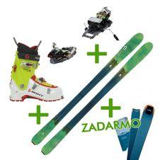 Set Scott Fly'Air + Dynafit Speed + lyžiarky Scott + pásy