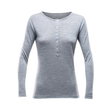 Devold Hessa Woman Button Shirt - allure melange