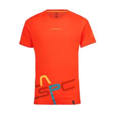 La Sportiva Shortener T-Shirt - tangerine
