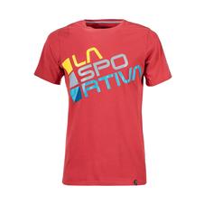 La Sportiva Square T-Shirt - cardinal red