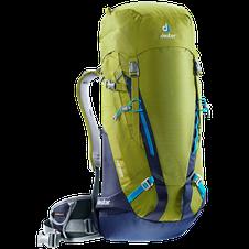 Deuter backpack Guide 35 + moss/navy 43L