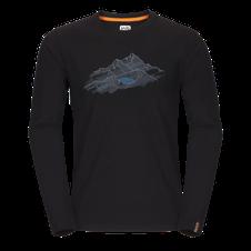Zajo Bormio T-shirt LS - black nature