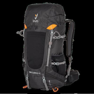 Backpack Zajo Ortler 38 + 8 Backpack-black
